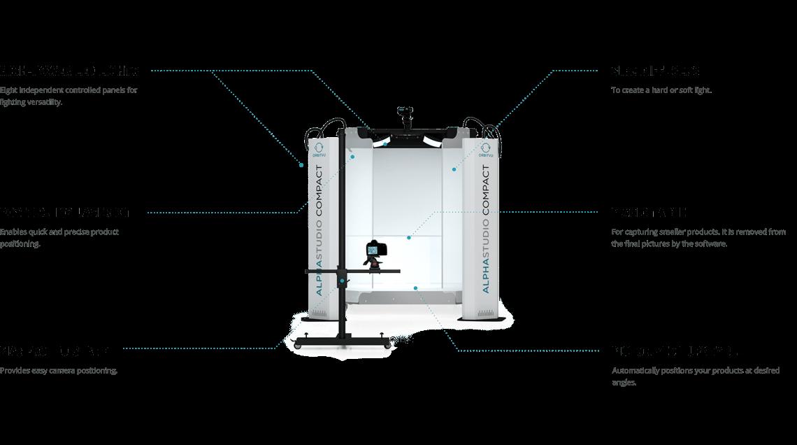 Alphastudio compact details