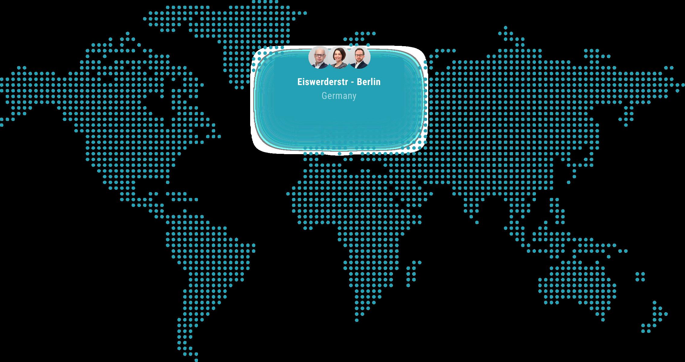 Map: Globales Vertriebsnetz