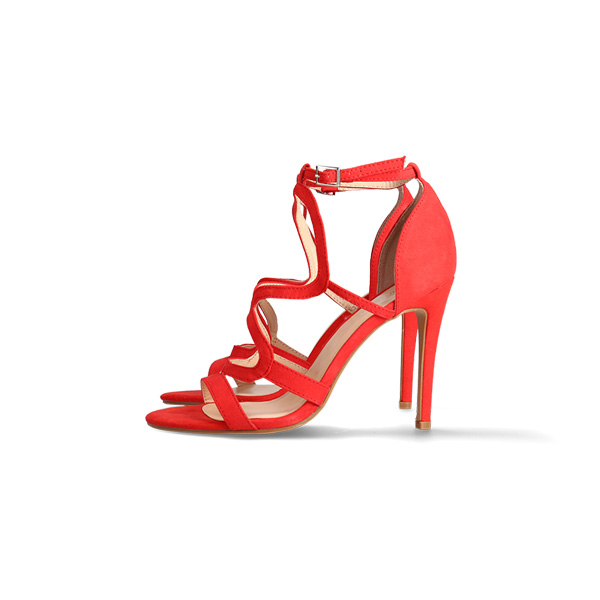 shoe product photography - heeled sandals