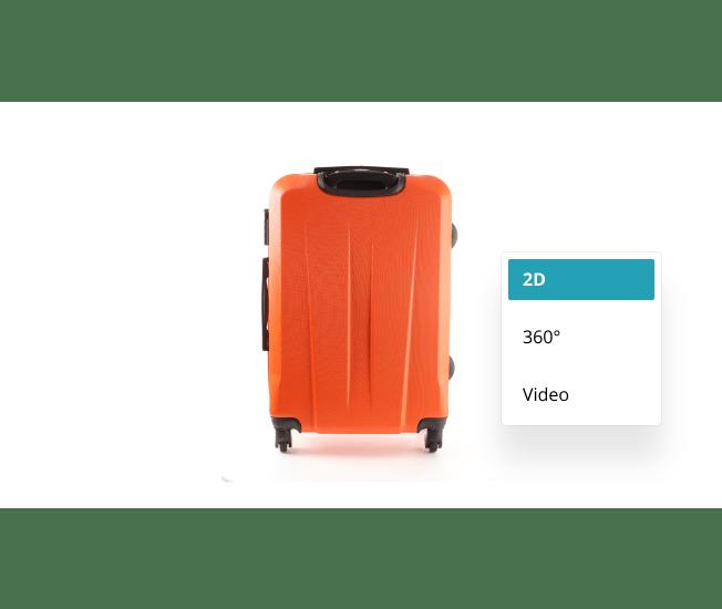 infographic: orange suitcase - software - multiple export tools