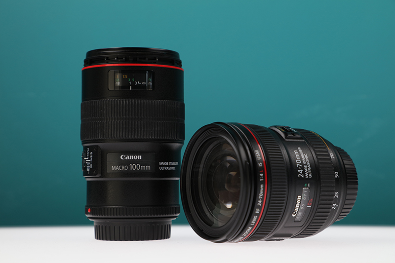 macro lens and standrd lens