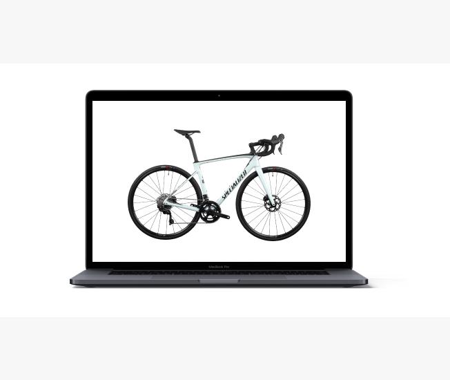bike image - mockup: online sotre