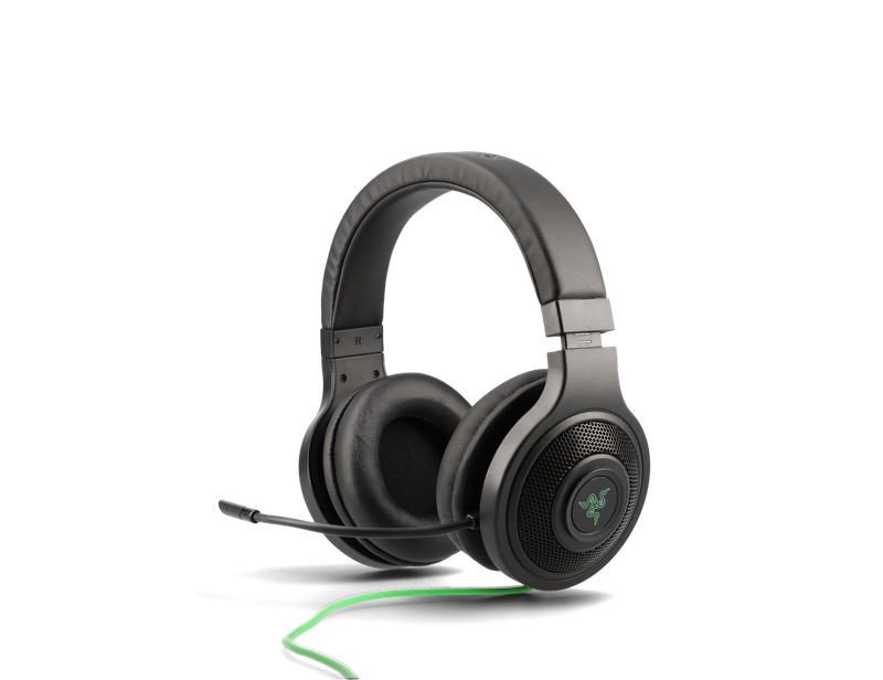 headphones product image - detail well visible