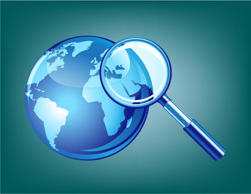 Global market illustration