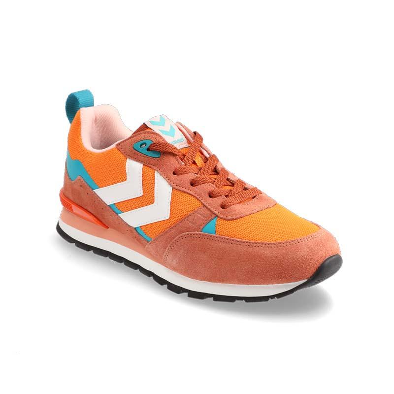 Orange shoe - good angle