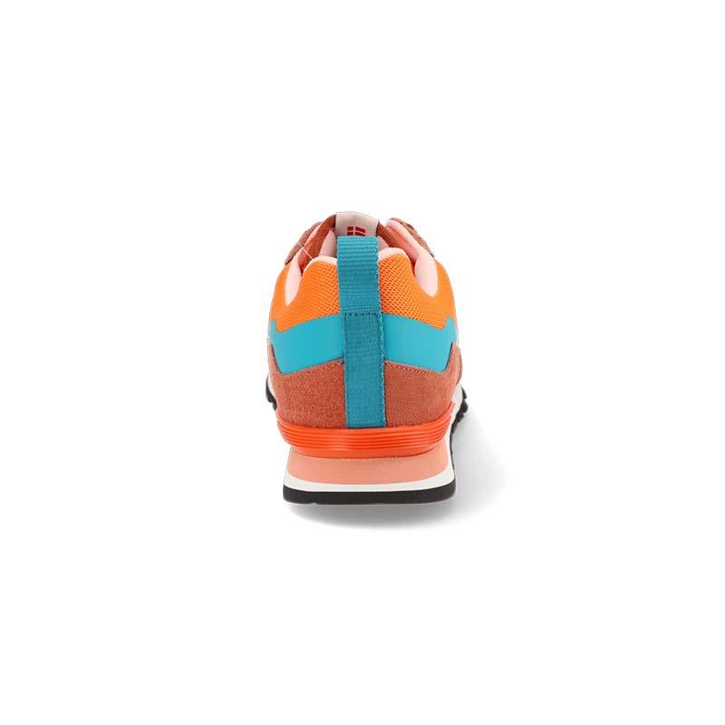 Orange shoe - back view