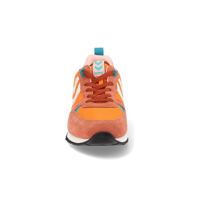 Orange shoe - front view