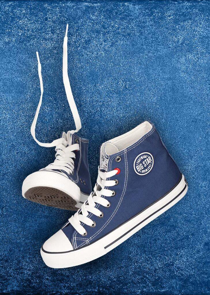 Blue shoes - a still life photo