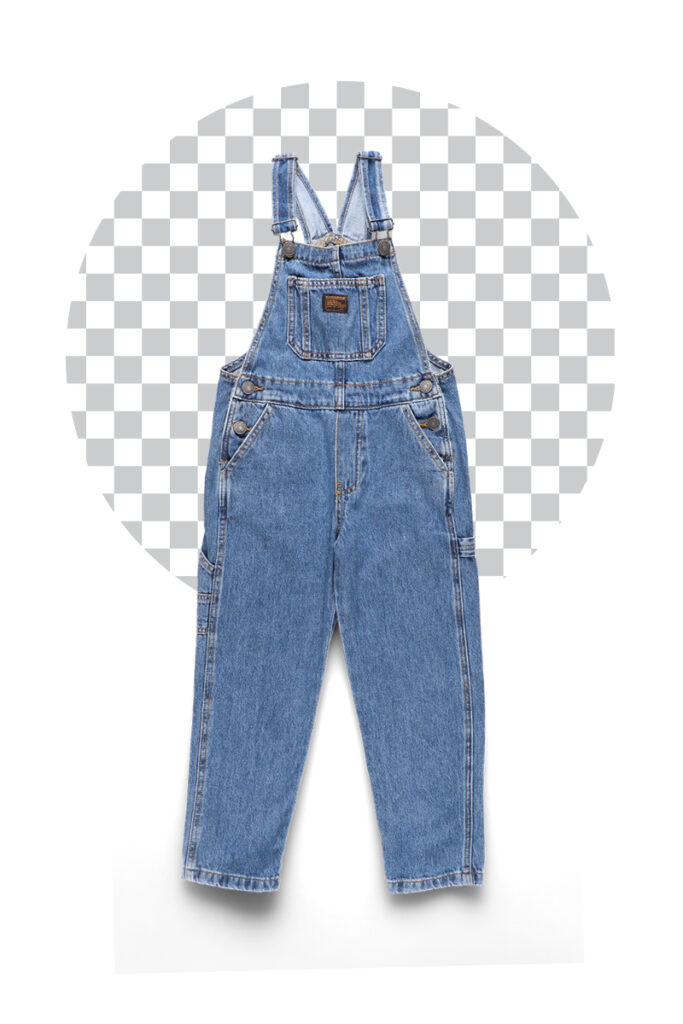 Trousers on transparent background - an example