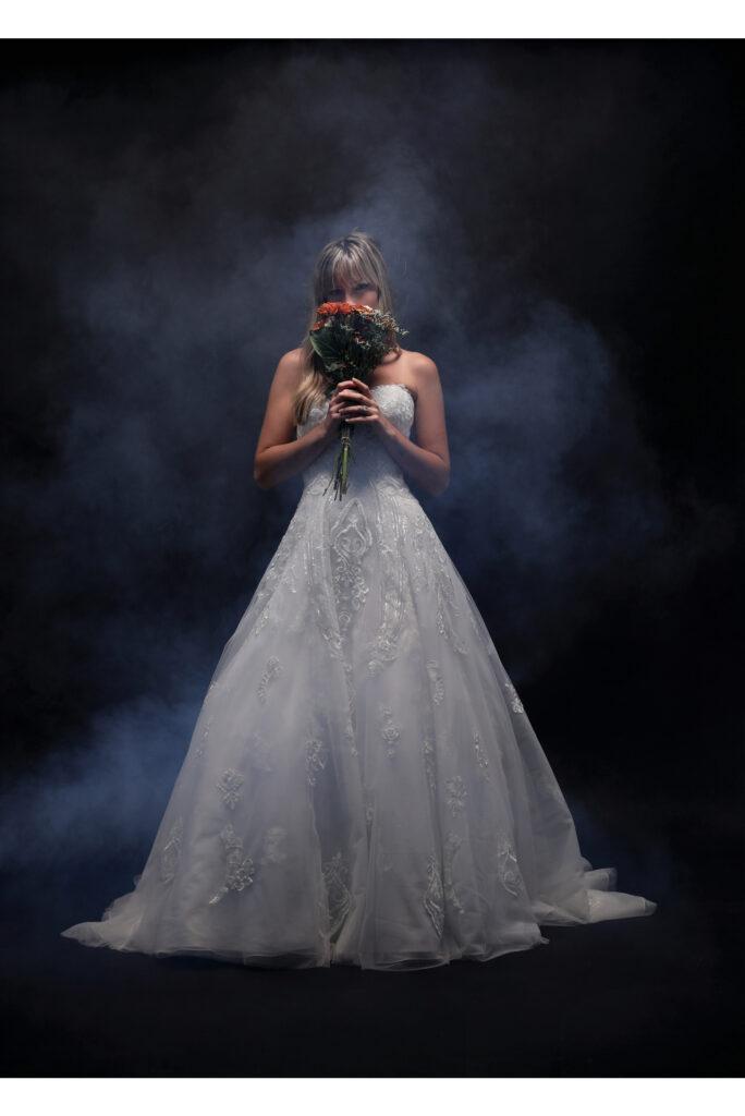 wedding dress product photography 1