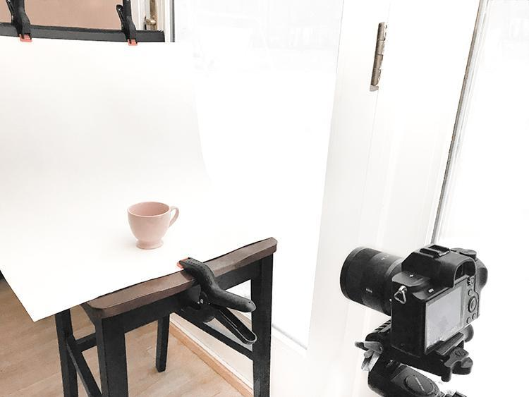 Example  Artificial Lighting for Product Photography Studio Set-up