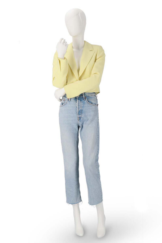 Mannequin photograph - jeans and jacket